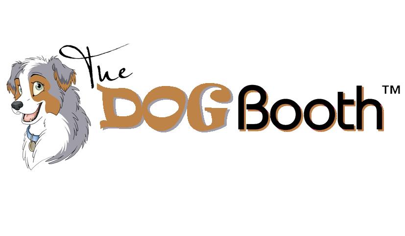 dog booth logo